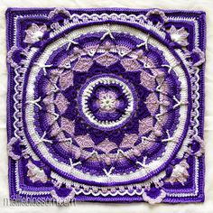 Finished Crochet Mandalas