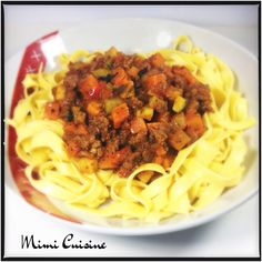 Bolognaise aux légumes #Companion - Mimi Cuisine