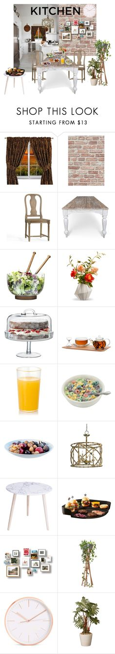 """""""dulce hogar"""" by floo-carriillo ❤ liked on Polyvore featuring interior, interiors, interior design, home, home decor, interior decorating, Sherry Kline, BD Fine Wallcoverings, Pottery Barn and Sagaform"""