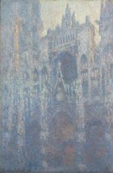 Claude Monet [French, 1840 - 1926], The Portal of Rouen Cathedral in Morning Light, French, 1894, Oil on canvas, Unframed: 100.3 x 65.1 cm (39 1/2 x 25 5/8 in.)