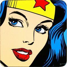 Wonderwoman..  I love her
