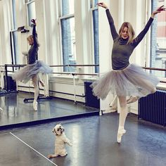 American Ballet Theatre Dancers & Their Dogs