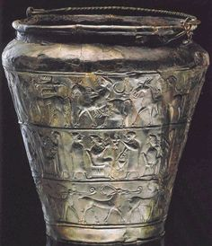 The situla from Vace (the end of the 6th century BC) is the most important artifact of the Hallstatt Culture in Slovenia. It represents a masterpiece of decorative art and European prehistory as a whole. Exceptionally designed artistic scenes from the life of the Iron Age aristocracy were finely produced in a repousse technique (i. e. embossed from the interior)