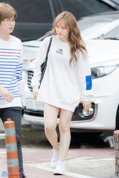 Find KPOP Sweatshirts, Red Velvet Clothing KPOP for an affordable price Seulgi, Kpop Fashion, Korean Fashion, Fashion Outfits, Womens Fashion, Airport Fashion, Petite Fashion, Curvy Fashion, Street Fashion