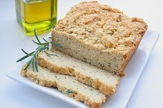 Rosemary Olive Oil Quick Bread