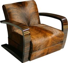 Buy Art Deco Lounge Chair by Cygal Art Deco - Quick Ship designer Furniture from Dering Hall's collection of Transitional Mid-Century / Modern Armchairs & Club Chairs. Muebles Estilo Art Nouveau, Muebles Art Deco, Unique Furniture, Vintage Furniture, Furniture Design, Hall Furniture, Silla Art Deco, Arte Art Deco, Art Deco Chair