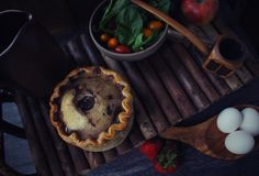 The Hobbit: Bombur's Pork Pie and Salad - Feast of Starlight Roast Pork With Mushrooms, Queen Of Puddings, Pie Game, Merry And Pippin, Spiced Wine, Bangers And Mash, Bread And Butter Pudding, Berry Pie, Chocolate Biscuits