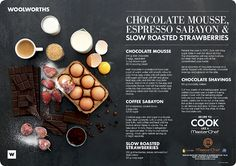 Masterchef/WW Recipe Placemats on Behance