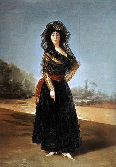 The Duchess of Alba - Francisco Goya