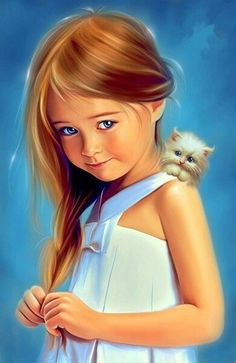 Find images and videos about art, baby and painting on We Heart It - the app to get lost in what you love. Cartoon Kunst, Cartoon Art, Cartoon Characters, Cute Girl Drawing, Cute Drawings, Cute Paintings, Beautiful Fantasy Art, Digital Art Girl, Beauty Art
