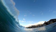 Where the ocean meets the heavens.