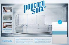 Popcorn Sofa - Hugo Veiga Copywriter