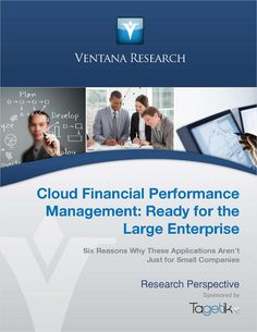 Financial Performance Management: 6 Reasons to Choose the Cloud, Free Tagetik Report Small Company, Cloud Computing, Perspective, Finance, Management, Clouds, How To Plan, Free, Perspective Photography