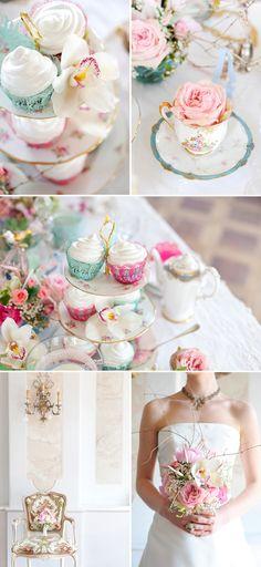 Some more of Marie Antoinette wedding inspiration