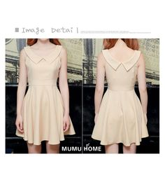 Mango Doll - Elegant Chelsea Collar Dress , $38.00 (http://www.mangodoll.com/new-arrivals/elegant-chelsea-collar-dress/)