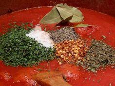 Delicious Italian red sauce: San Marzano