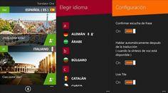 Translator One, un atractivo traductor para Windows Phone 8  http://www.xatakawindows.com/p/108077