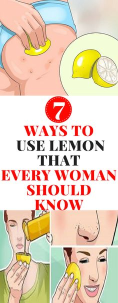 Lemon is widely used in everyday life, but not everyone knows all its uses. It is one of the most common kitchen ingredients, used both in cooking as well as beauty regimens. #beauty #lemon