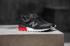new balance 574 S black