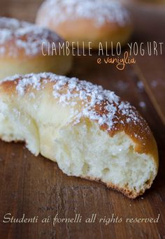 ciambelle allo yogurt e vaniglia ricetta ciambelle soffici senza patate al forno