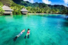 Romantic Tahiti Honeymoon With Bora Bora Best Vacations For Couples, Best All Inclusive Honeymoon, Honeymoon Spots, Couples Vacation, Honeymoon Destinations, Vacation Spots, Honeymoon Ideas, Caribbean Honeymoon, Disney Honeymoon