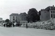De Steenstraat vlakbij de Velperpoort in 1945 - Serc