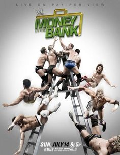 WWE Money In The Bank 2013 Poster | WWE-Money-In-The-Bank-2013-Poster