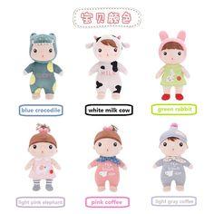 2016 New Hot METOO Series Sugar Beans Doll PP Plush Stuffed Soft 30cm-45cm 1pcs Children Birthday Gifts