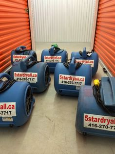 Air movers and DH for rental