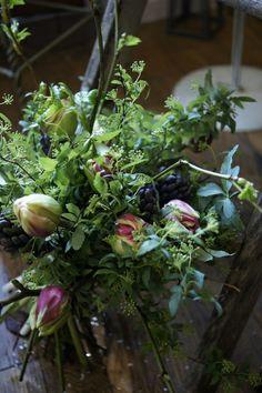 french style flower arrangement school verdir