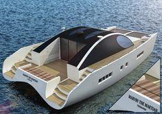 Marvin, the eco-sustainable catamaran by Maria Malindretou-Vika » Yanko Design