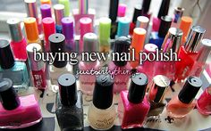 it's like a hunt - and when you find the perfect color it's hard not to just sit down in the store and start applying it right then