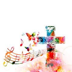 Consider It Pure Joy, Spirit Song, Church Music, The Cross Of Christ, King And Country, Watercolor Background, Music Notes, Christianity, Prayers