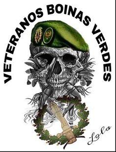 Veteranos Boinas Verdes - COE 103 Las Palmas