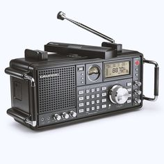Listen to the World: Stay Informed of Global News Anywhere, With Grundig Shortwave Satellit 750 Radio - Anniversary Series! Hi Fi System, Audio System, Radios, Latest Technology Gadgets, Short Waves, Boombox, Ham Radio, Cool Gadgets, Antique Radio