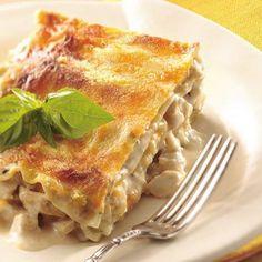 Y así fue que a Milca le dió el teke teke... Lasagna de Pollo.