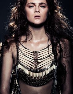 Image: Tina Chang // MUAH: Nickol Walkemeyer // Model: Kendall at Mode // Armor: John James