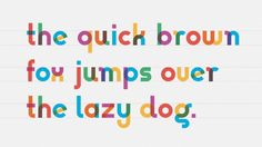 Gilbert font created in tribute to designer of Rainbow Flag