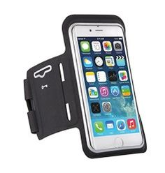 iPhone 6s/6 Armband, icefox iPhone 6s/6 4.7 Sports Strap Armband Case with card holder [Anti-slip] Protective Gym Running Jogging Sport Armband Case for iPhone 6s/6 (Black)