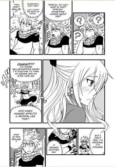 Cover of Fairy Tail - Fictional Romance ( Nalu Doujinshi ) Page 1 Page 21 &nb. FT: Fictional Romance Page 60 Fairy Tail Story, Fairy Tail Funny, Fairy Tail Love, Fairy Tail Ships, Fairy Tales, Natsu Y Lucy, Fairy Tail Natsu And Lucy, Fairy Tail Manga, Anime Fairy