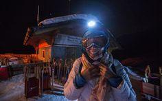 Bereit fürs Nachtschlitteln in Graubünden
