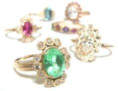 gorgeous TATSUO NAGAHATA rings