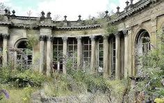Derelict Ballroom Picture the dance in the garden…under the stars…oh wait…that was just a movie! Be fun to bring this back to that! 🙂 The post Derelict Ballroom appeared first on Welcome! Abandoned Buildings, Abandoned Property, Abandoned Castles, Old Buildings, Abandoned Places In The Uk, Beautiful Architecture, Beautiful Buildings, Beautiful Places, Classical Architecture