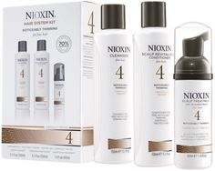 NIOXIN Hair System Kit 4 for Fine, Noticeably Thinning, Chemically Treated Hair  http://www.ebay.co.uk/itm/NIOXIN-Hair-System-Kit-4-for-Fine-Noticeably-Thinning-Chemically-Treated-Hair-/131893843969?hash=item1eb57c5801:g:nxgAAOSwENxXnJP3
