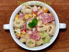 Peggi w kuchni: Sałatka z tortellini