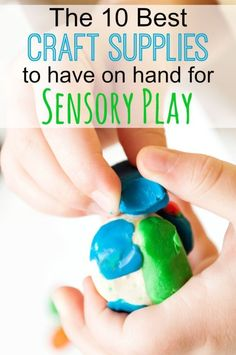 The Best Craft SuppliesTo Have on Hand for Sensory Play | eBay #spon