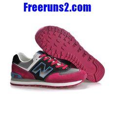 dcb324eca795 Achat Vente New Balance ML574NMA classic lover Noir Gris rouge Chaussures  Femmes