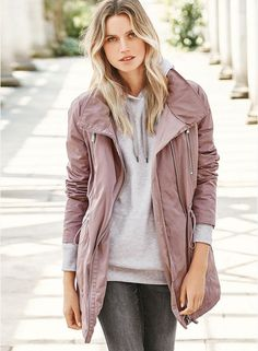 4b622c809d0 Buy Next Pink Solid Polyester Jacket online. Winter Jackets WomenJackets ...