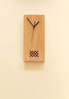Wall Clock Wood Clock Unique Wall Clock от StudioConnections