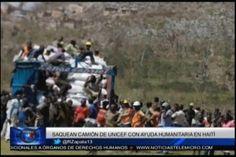 Resumen De Noticias Internacionales: Atacan Camión De UNICEF Con ayuda Humanitaria en Haití, 7 Dominicanos Detenidos Por Implicación en…